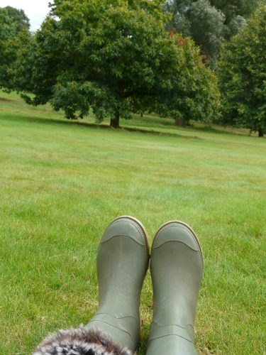 Faye Cossar Boots at Hampstead Heath