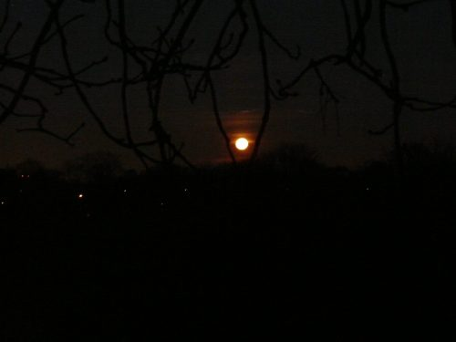 Full moon Greenwich